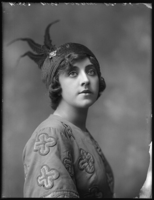 Violet Loraine, by Bassano Ltd, 3 August 1912 - NPG x101538 - © National Portrait Gallery, London