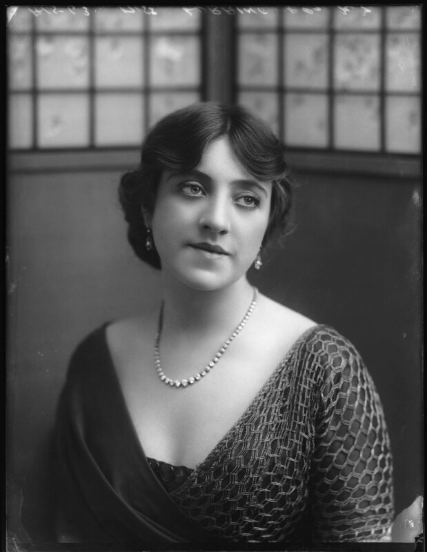 Violet Loraine, by Bassano Ltd, 3 August 1912 - NPG x101539 - © National Portrait Gallery, London