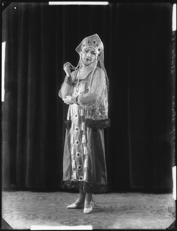 Madame Olga Alexeeva, by Bassano Ltd, 24 March 1925 - NPG x123238 - © National Portrait Gallery, London