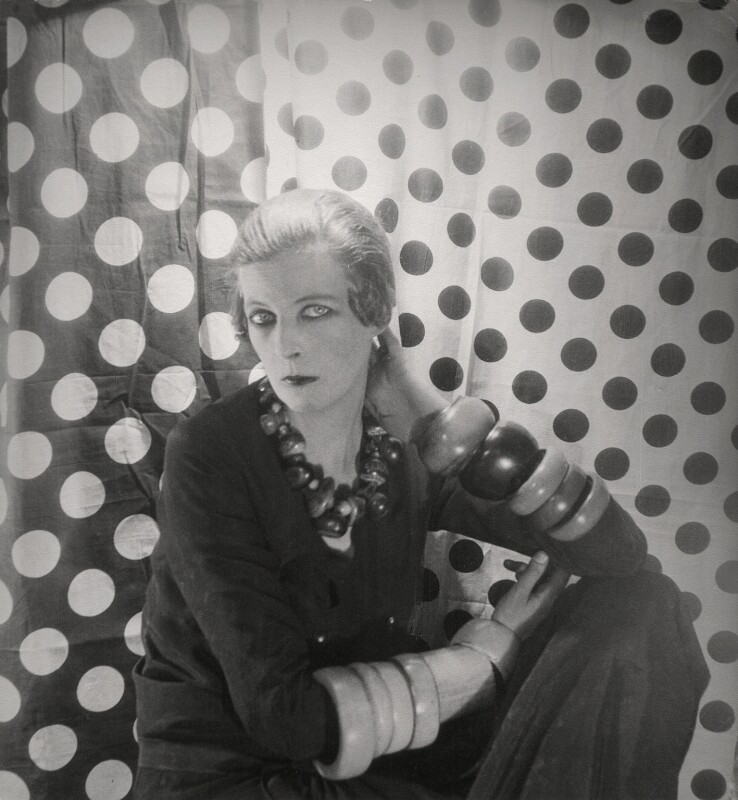 Nancy Cunard, by Cecil Beaton, 1929 - NPG x40078 - © Cecil Beaton Studio Archive, Sotheby's London