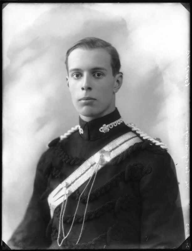 Chandos Sydney Cedric Brudenell-Bruce, 7th Marquess of Ailesbury, by Bassano Ltd, 20 March 1925 - NPG x123273 - © National Portrait Gallery, London
