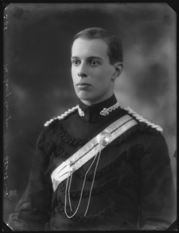 Chandos Sydney Cedric Brudenell-Bruce, 7th Marquess of Ailesbury, by Bassano Ltd, 20 March 1925 - NPG x123274 - © National Portrait Gallery, London