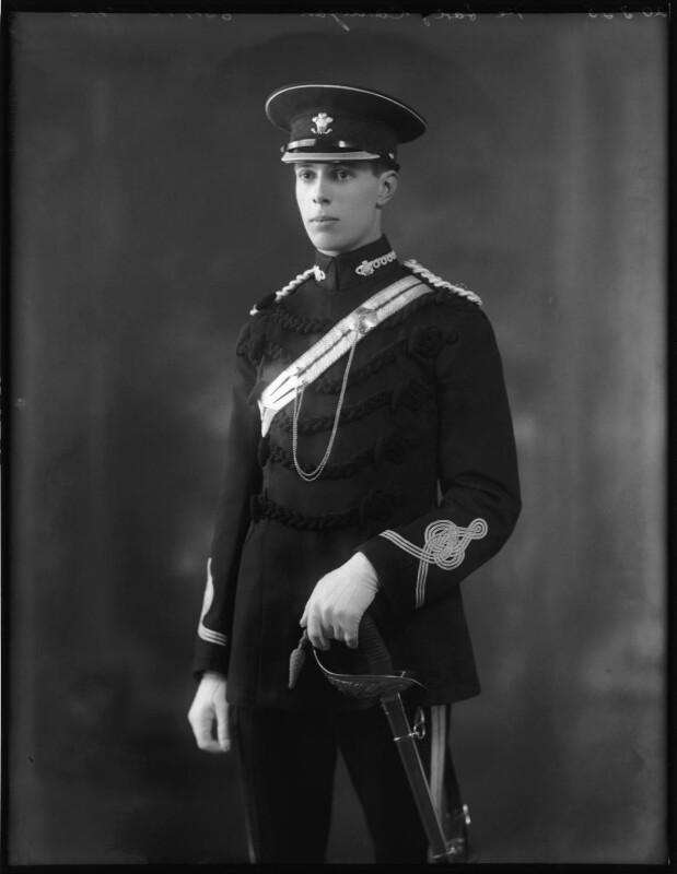 Chandos Sydney Cedric Brudenell-Bruce, 7th Marquess of Ailesbury, by Bassano Ltd, 20 March 1925 - NPG x123275 - © National Portrait Gallery, London