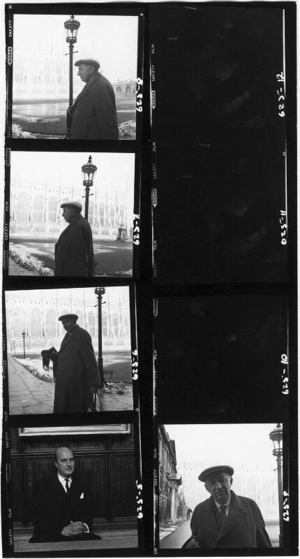 E.M. Forster; Noel Gilroy Annan, Baron Annan, by Cecil Beaton, 1962 - NPG x40101 - © Cecil Beaton Studio Archive, Sotheby's London