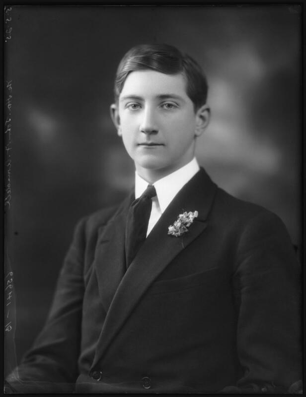 John Francis Arundell, 16th Baron Arundell of Wardour, by Bassano Ltd, 5 May 1925 - NPG x123308 - © National Portrait Gallery, London