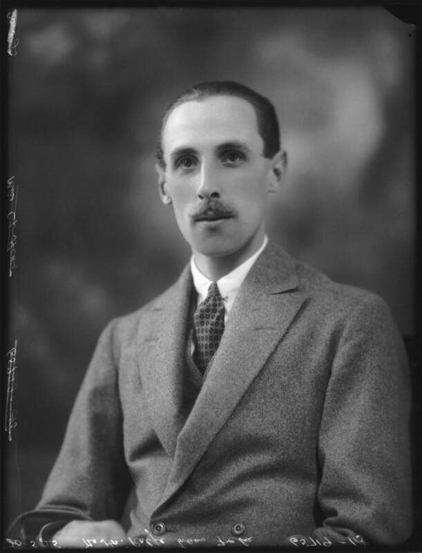 Hon. Ralfe Evans-Freke, by Bassano Ltd, 20 May 1925 - NPG x123319 - © National Portrait Gallery, London