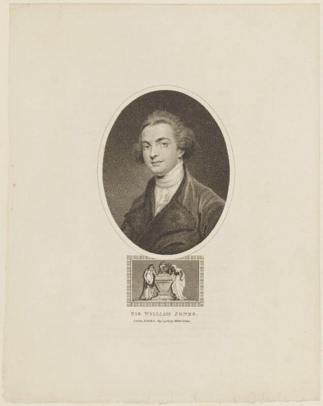 Sir William Jones, published by Jones and Adlard, after  Sir Joshua Reynolds, published 19 August 1811 (1767-1769) - NPG D15509 - © National Portrait Gallery, London