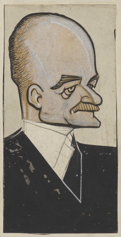 Edward Charles Grenfell, 1st Baron St Just, by Fred May, probably 1930s - NPG D18479 - © National Portrait Gallery, London