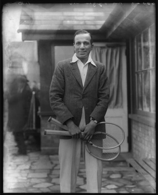 Athar-Ali Fyzee, by Bassano Ltd, 1925 - NPG x123345 - © National Portrait Gallery, London