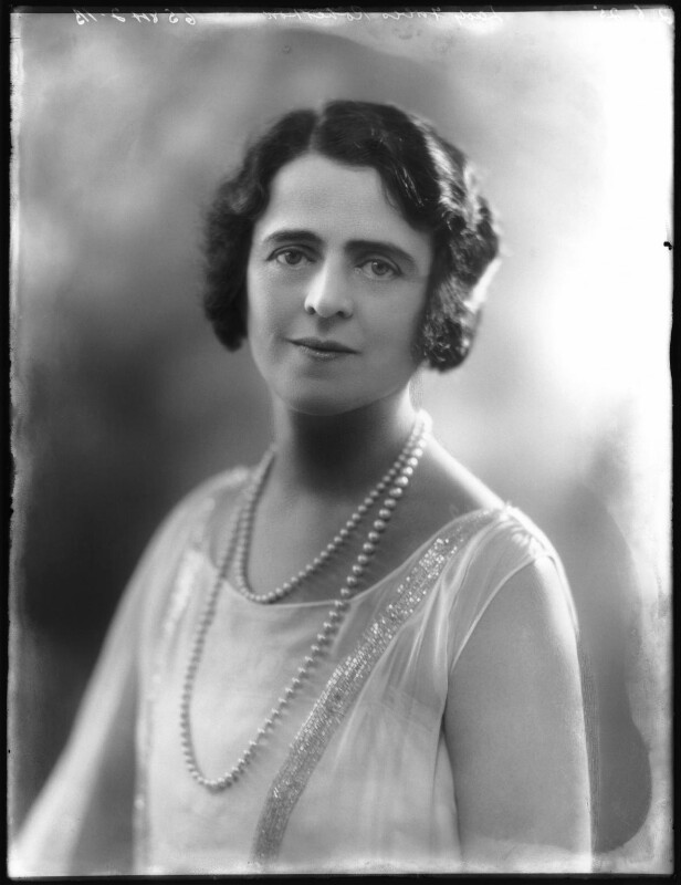 Gertrude Elliott, by Bassano Ltd, 2 June 1925 - NPG x123360 - © National Portrait Gallery, London