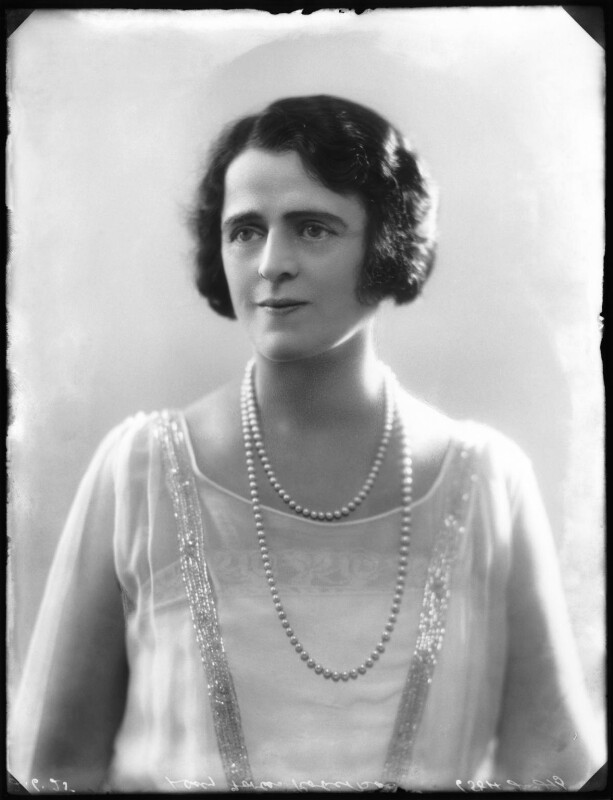Gertrude Elliott, by Bassano Ltd, 2 June 1925 - NPG x123361 - © National Portrait Gallery, London