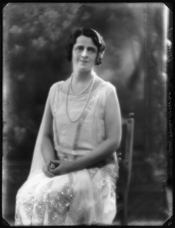 Gertrude Elliott, by Bassano Ltd, 2 June 1925 - NPG x123363 - © National Portrait Gallery, London
