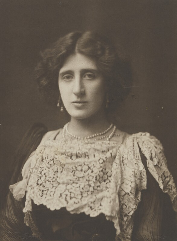 Lady Ottoline Morrell, by H. Walter Barnett, 1902 - NPG P1005 - © National Portrait Gallery, London