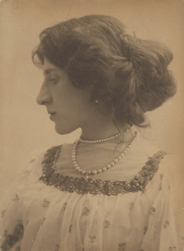 Lady Ottoline Morrell, by George Charles Beresford, 4 June 1903 - NPG P1006 - © National Portrait Gallery, London