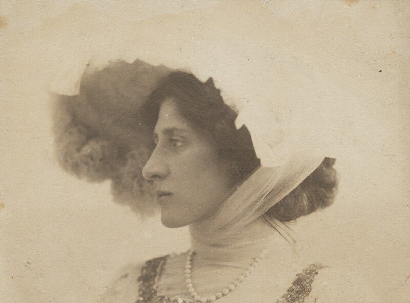 Lady Ottoline Morrell, by George Charles Beresford, 4 June 1903 - NPG P1007 - © National Portrait Gallery, London
