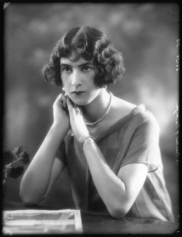 Joan Houlton (née Salter), Marchioness of Ailesbury, by Bassano Ltd, 23 July 1925 - NPG x123429 - © National Portrait Gallery, London