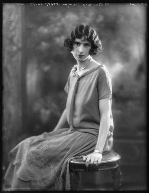 Joan Houlton (née Salter), Marchioness of Ailesbury, by Bassano Ltd, 23 July 1925 - NPG x123430 - © National Portrait Gallery, London