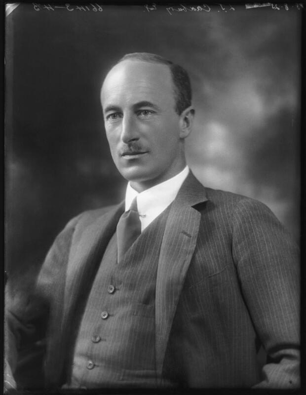 Laurence John Cadbury, by Bassano Ltd, 18 August 1925 - NPG x123433 - © National Portrait Gallery, London