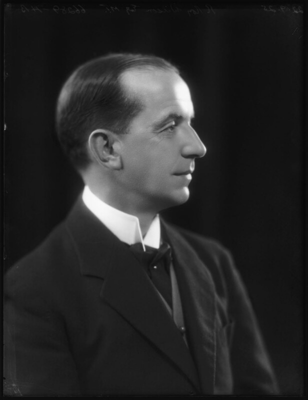 Sir (Roderick) Roy Wilson, by Bassano Ltd, 22 September 1925 - NPG x123453 - © National Portrait Gallery, London