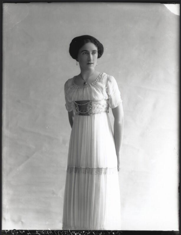 Lady Dorothy Mills (née Walpole), by Bassano Ltd, 15 May 1911 - NPG x33162 - © National Portrait Gallery, London
