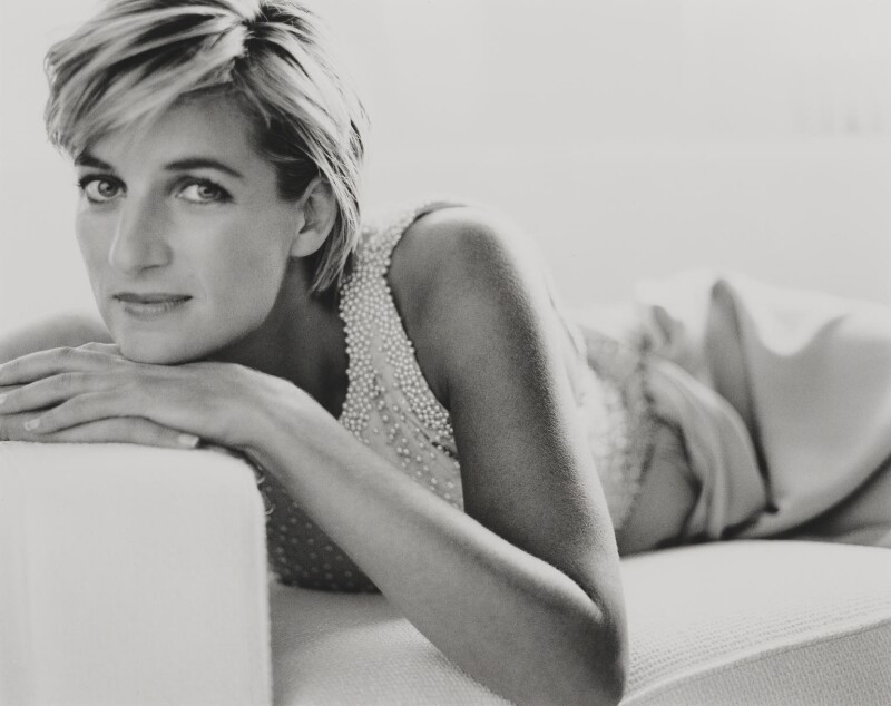 Diana, Princess of Wales, by Mario Testino, 1997 - NPG P1015 - © Mario Testino