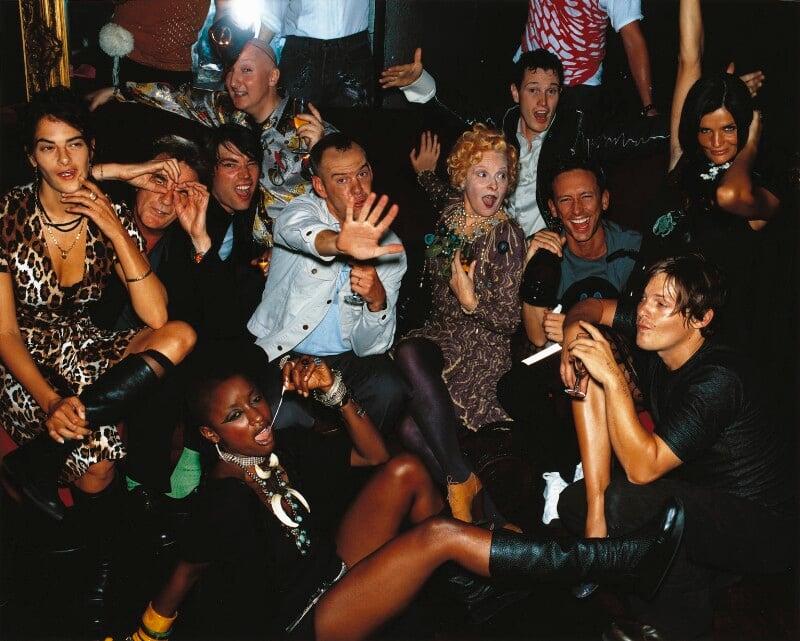 Vogue's Millennium Party, by Mario Testino, 1999 - NPG P1022 - © Mario Testino