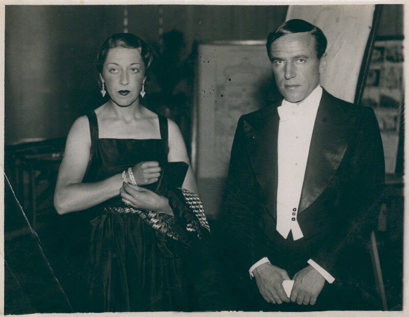 Amy Johnson; James Allan Mollison, by Albert Victor Swaebe, 1930 - NPG x126267 - © reserved; collection National Portrait Gallery, London