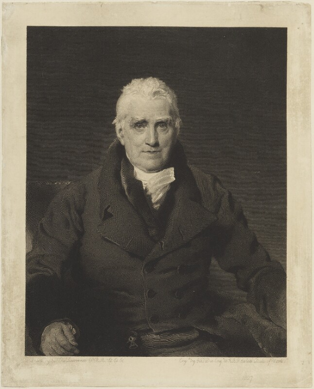 John Scott, 1st Earl of Eldon, by George Thomas Doo, after  Sir Thomas Lawrence, 1827 (1826) - NPG D15714 - © National Portrait Gallery, London