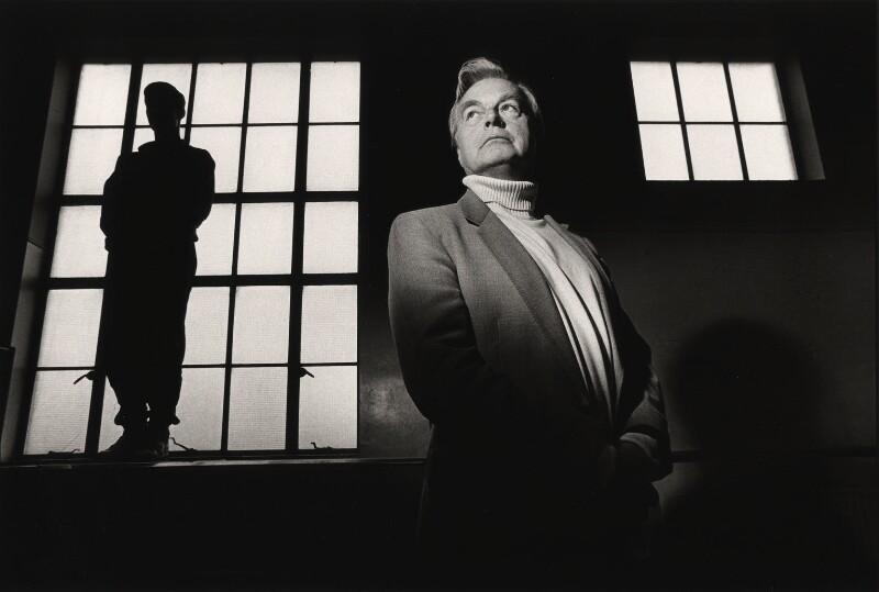 Sir Peter Robert Wright, by Barry Marsden, 1990 - NPG x39375 - © Barry Marsden