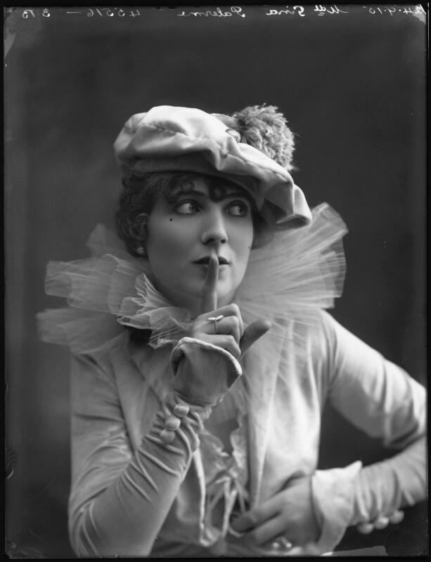 Gina Palerme, by Bassano Ltd, 24 September 1915 - NPG x32229 - © National Portrait Gallery, London
