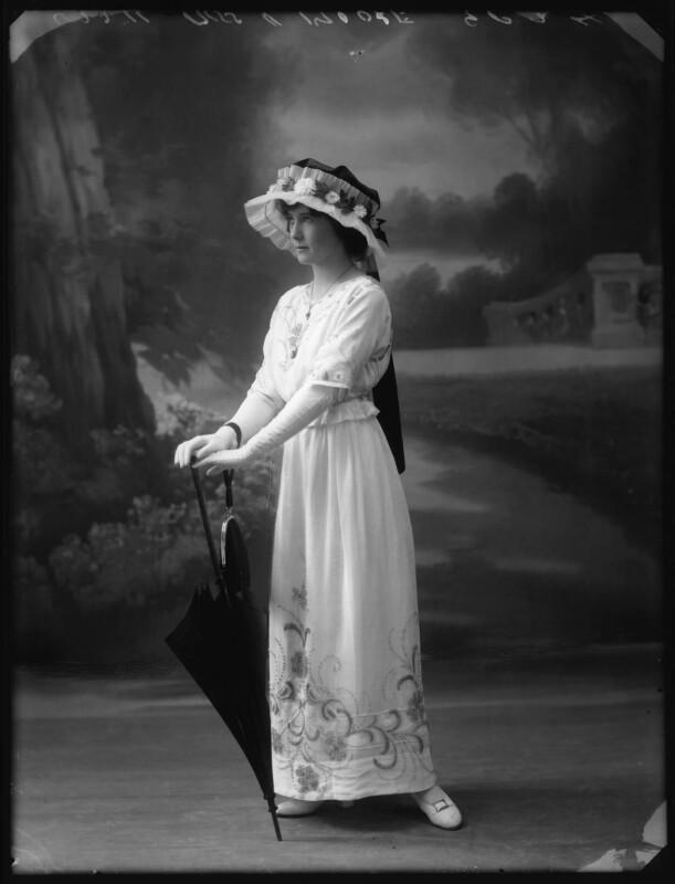 Unity More, by Bassano Ltd, 1913 - NPG x101653 - © National Portrait Gallery, London