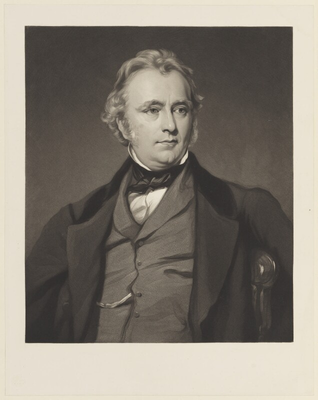 Thomas Babington Macaulay, Baron Macaulay, after Sir Francis Grant, (1858) - NPG D15735 - © National Portrait Gallery, London
