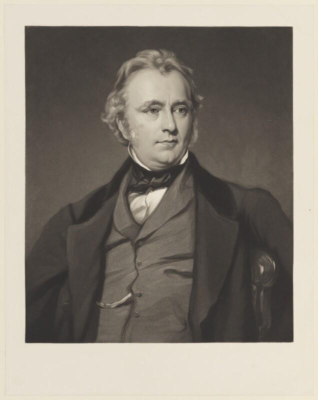 Thomas Babington Macaulay, Baron Macaulay, after Sir Francis Grant, (1858) - NPG D15735 - © National Portrait Gallery, London