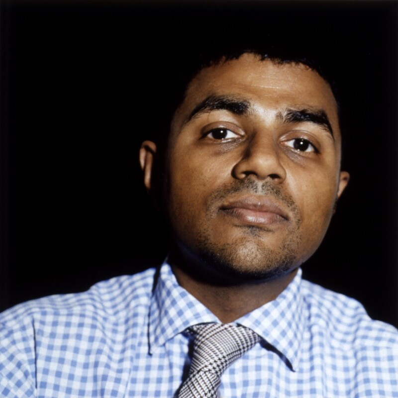 Waheed Alli, Baron Alli, by Sam Green, 17 May 2003 - NPG x126278 - © Sam Green
