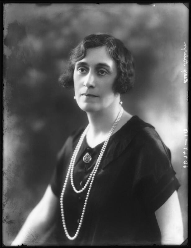 Mildred (née King), Lady Ailwyn, by Bassano Ltd, 29 January 1926 - NPG x123557 - © National Portrait Gallery, London