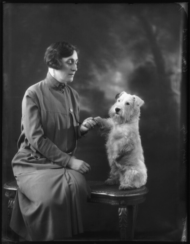 Mildred (née King), Lady Ailwyn, by Bassano Ltd, 29 January 1926 - NPG x123560 - © National Portrait Gallery, London