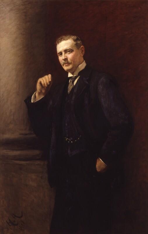 Charles Rothschild, by Sir Hubert von Herkomer, 1908 - NPG 6664 - © National Portrait Gallery, London