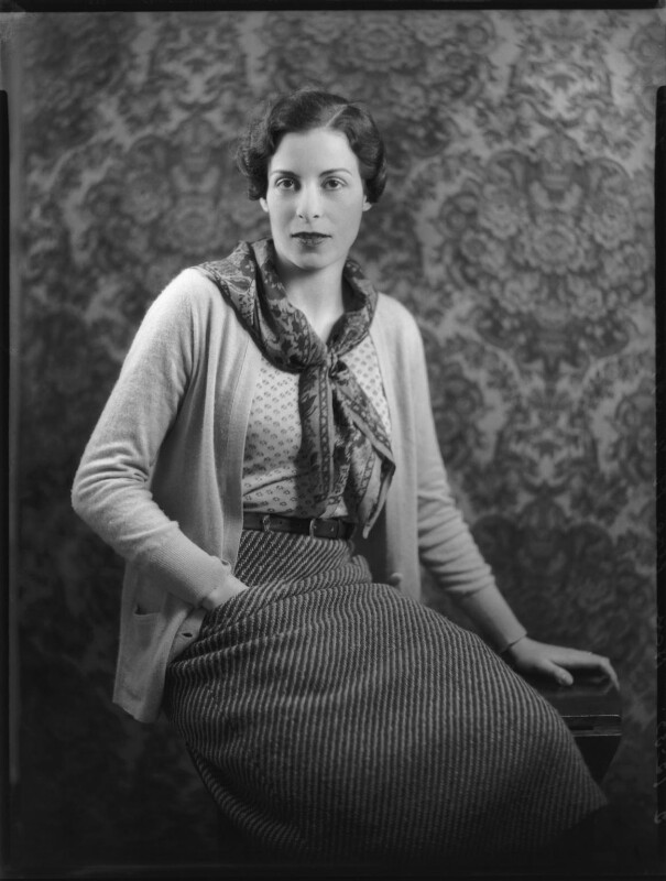 Sheila Claude Wingfield (née Beddington), Viscountess Powerscourt, by Bassano Ltd, 2 December 1933 - NPG x123623 - © National Portrait Gallery, London