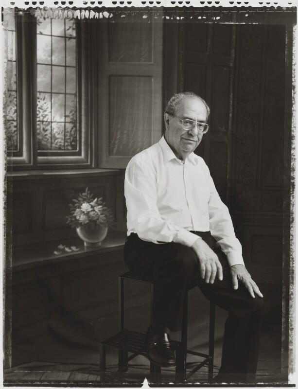 David Gerald Hessayon, by Tessa Traeger, 2002 - NPG P1026(16) - © Tessa Traeger / National Portrait Gallery, London