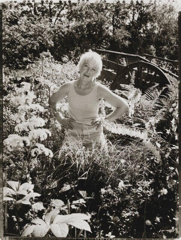 Carol Klein, by Tessa Traeger, 2002 - NPG P1026(20) - © Tessa Traeger / National Portrait Gallery, London