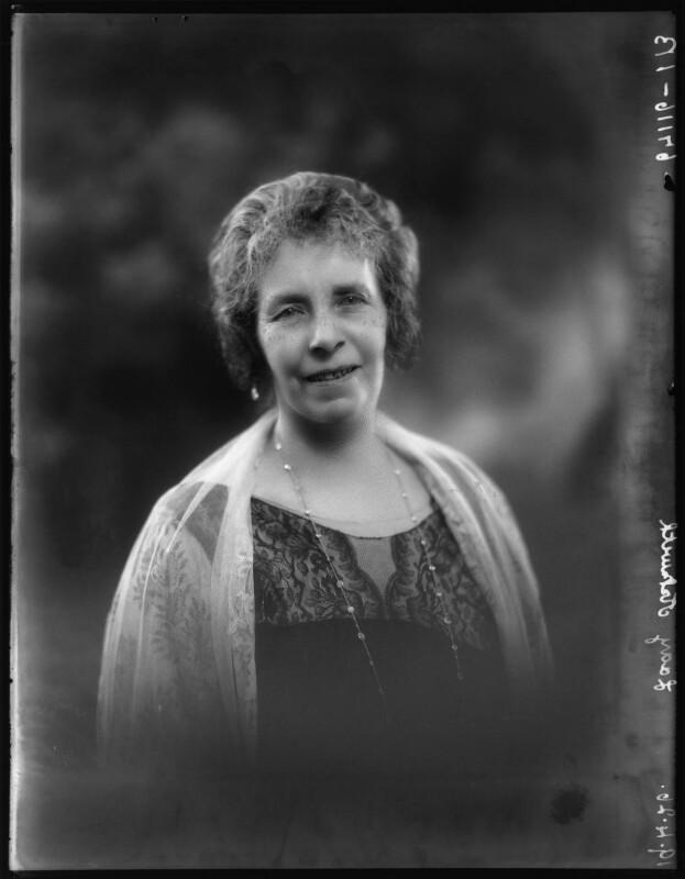 Ellen (née Peel), Lady Askwith, by Bassano Ltd, 19 April 1926 - NPG x123643 - © National Portrait Gallery, London