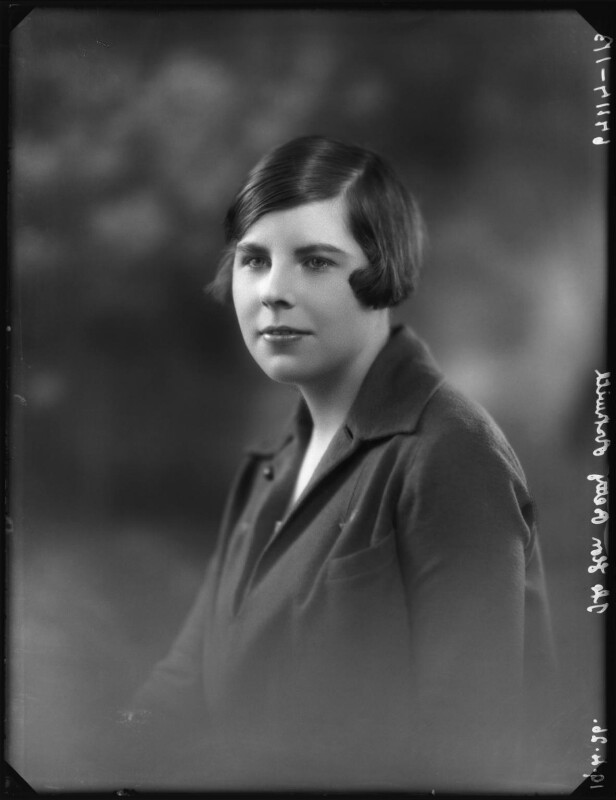Hon. Betty Ellen Askwith, by Bassano Ltd, 19 April 1926 - NPG x123644 - © National Portrait Gallery, London