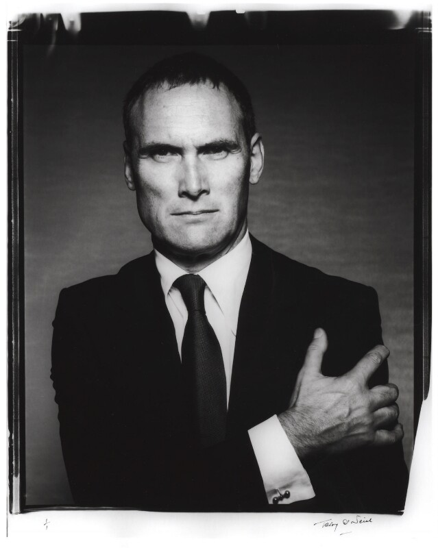 A. A. Gill, by Terry O'Neill, 14 November 2003 - NPG x126300 - © Iconic IMages/Terry O'Neill