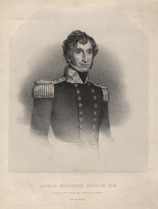 Frederick Bullock, by Edward Morton, printed by  M & N Hanhart, after  J. Carpenter, (1843) - NPG D18551 - © National Portrait Gallery, London