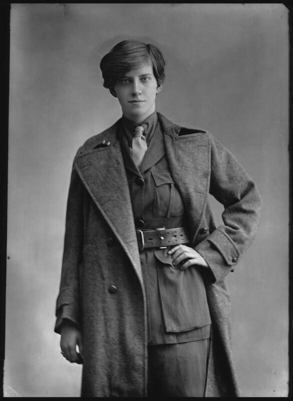 Rotha Beryl Lintorn Lintorn-Orman, by Bassano Ltd, 22 August 1916 - NPG x33432 - © National Portrait Gallery, London