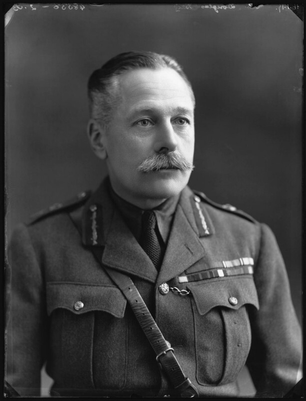 Douglas Haig, 1st Earl Haig, by Bassano Ltd, 16 January 1917 - NPG x32884 - © National Portrait Gallery, London