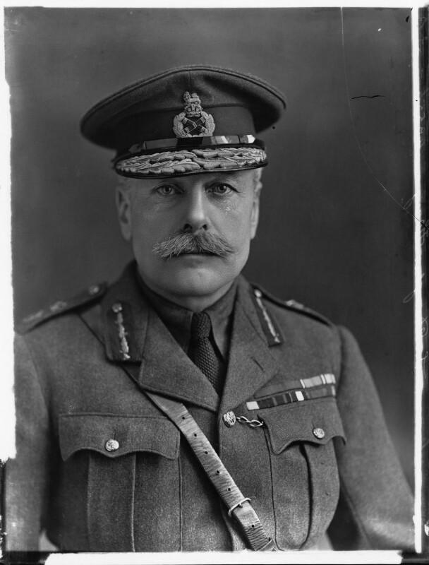 Douglas Haig, 1st Earl Haig, by Bassano Ltd, 16 January 1917 - NPG x32886 - © National Portrait Gallery, London