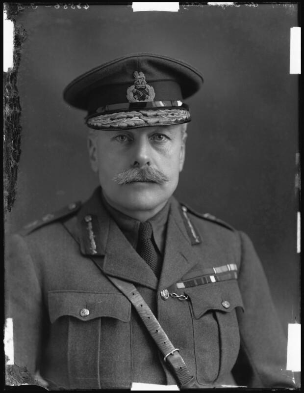 Douglas Haig, 1st Earl Haig, by Bassano Ltd, 16 January 1917 - NPG x32887 - © National Portrait Gallery, London