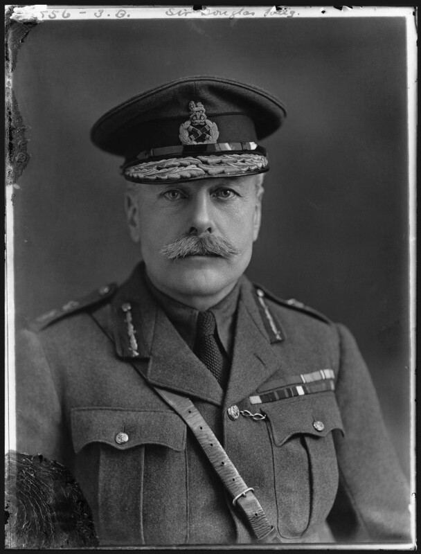 Douglas Haig, 1st Earl Haig, by Bassano Ltd, 16 January 1917 - NPG x32888 - © National Portrait Gallery, London