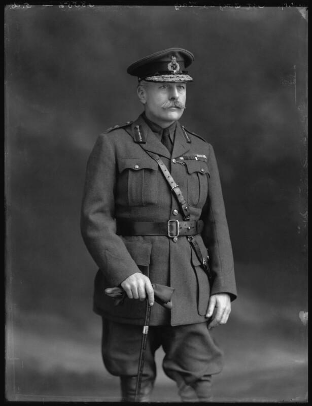 Douglas Haig, 1st Earl Haig, by Bassano Ltd, 16 January 1917 - NPG x32894 - © National Portrait Gallery, London